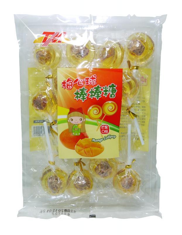 TM梅心棒棒糖-芒果