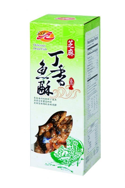 SSY芝麻丁香魚酥