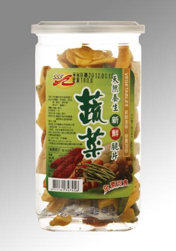 SSY-天然養生綜合蔬菜脆片