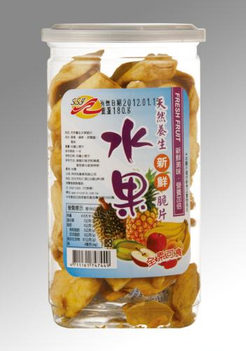 SSY-天然養生綜合水果脆片