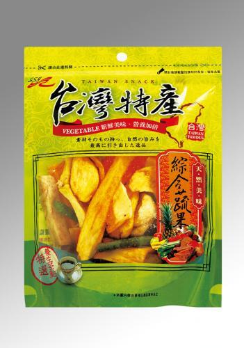 台灣特產-綜合蔬果脆片